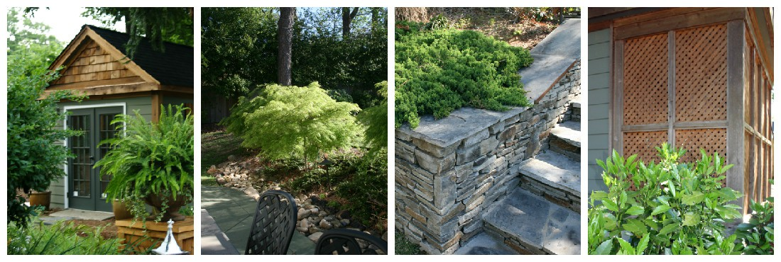Updated Outside Landscaping