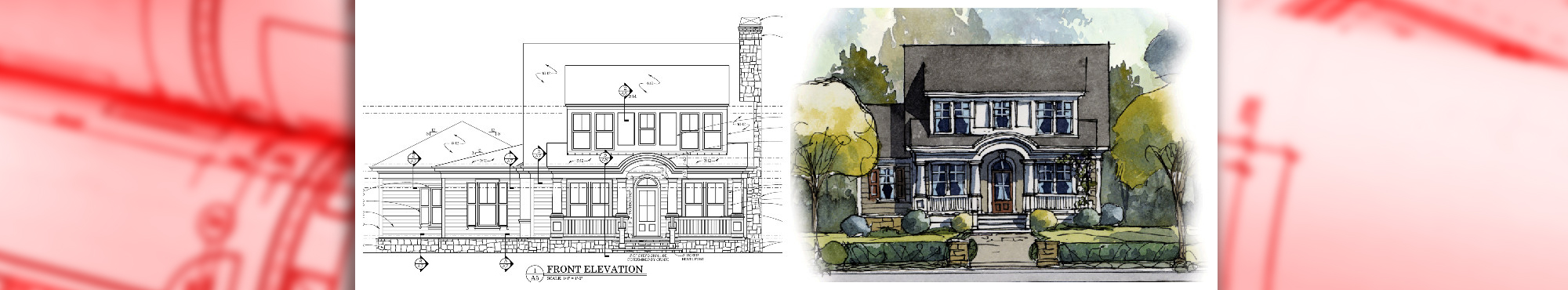 Full House Blueprint and Rendering